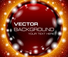 Brilliant Luminous background free vector 04