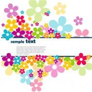 Link toBeautiful petal background free vector 01