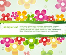 Beautiful Petal background free vector 02