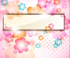 Beautiful Petal background free vector 03