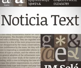 Exquisite font set 02