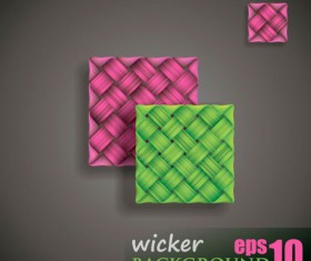 free vector Weave background 03