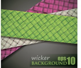 free vector Weave background 04