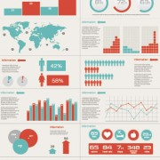 Link toBusiness information data chart vector 02