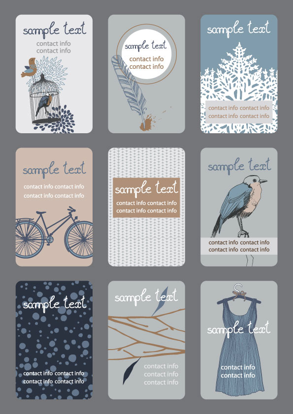 Amazing free vector business card templates image collection free vector business card template 02 free download accmission