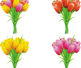 Exquisite with Flowers free vector 01