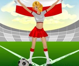 Football Baby free vector 01