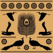Link toEgypt style pattern free vector 02