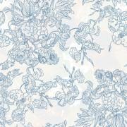 Link toLine of draft flower background vector 02