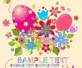 free vector Easter Illustration