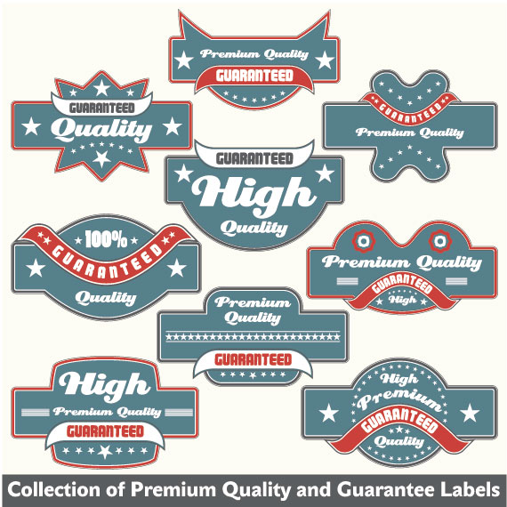 Classic Label Stickers 02 Free Vector Over Millions