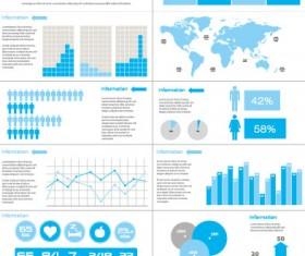 Business Information Data chart vector 03