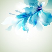 Link toFree vector halation with flowers 01