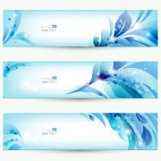 Link toFree vector halation with flowers 02