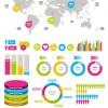 Business Information Data chart vector 04