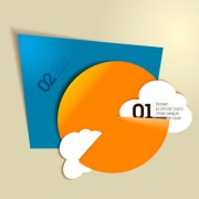 Link toFree vector color origami 03