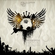 Link toFootball theme poster vector 01