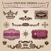Link toVintage classic borders vector 02