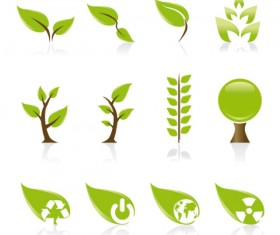 Set of Exquisite Leaves vector Graphics part 01