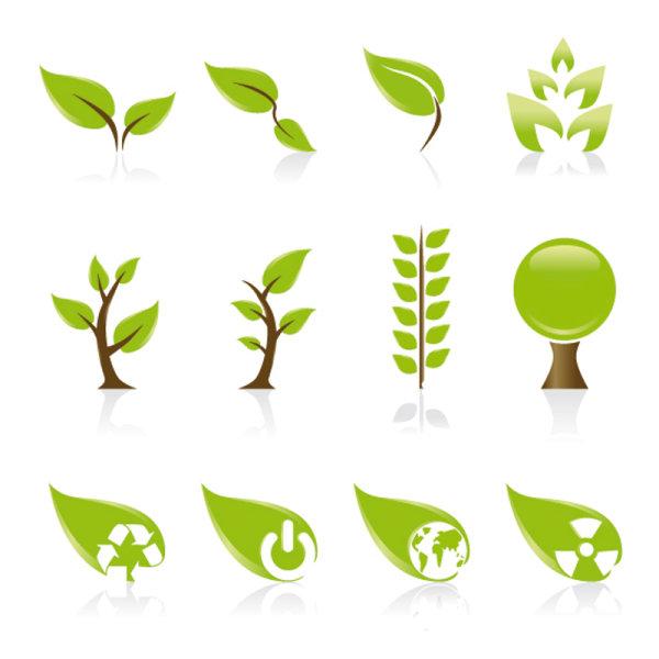 set of exquisite leaves vector graphics part 01 vector pattern rh freedesignfile com free vine leaf vector free vector leaf crown