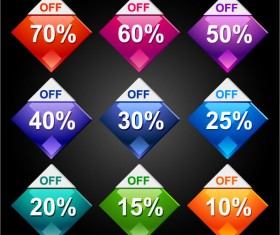 Sale Discount free eps icon 01