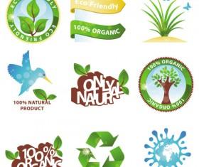 green environmental protection vector icon 01
