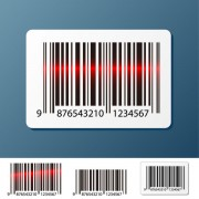 Link toBarcode design elements vector set 01
