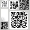 Barcode design Elements vector set 04