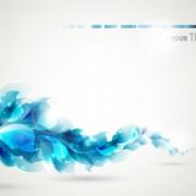 Link toBlue color lily flower background vector 01