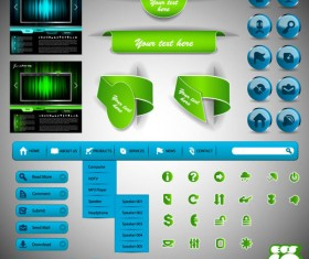 Web design Elements Collection vector 02
