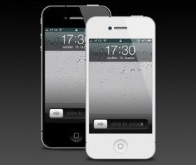 iphone 4 free psd template