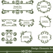 Link toVintage lace vector borders 01