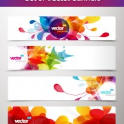 Link toAbstract creative banner free vector 01