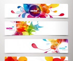 Abstract Creative banner free vector 01