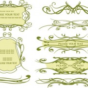 Link toVintage lace vector borders 03