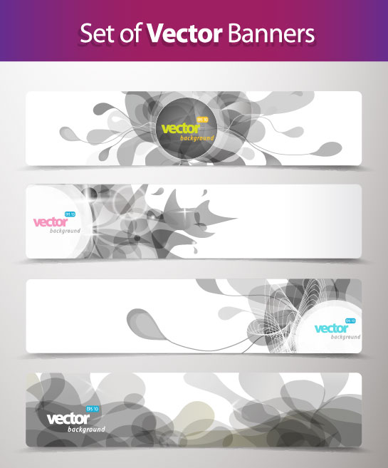 Abstract Creative Banner Free Vector 02 Free Download
