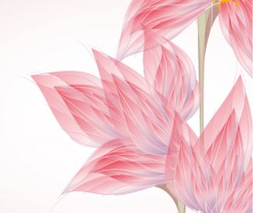 Bright with Flowers free vector 02