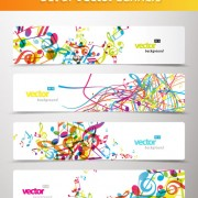 Link toAbstract creative banner free vector 03