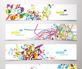 Abstract Creative banner free vector 03