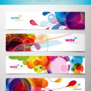 Link toAbstract creative banner free vector 04