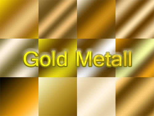 gold color Gradients for Photoshop
