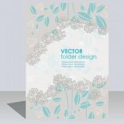 Link toFolder design vector floral background 05