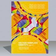 Link toAbstract folder design vector background 02
