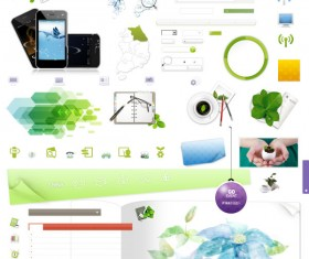 web Commonly used icon Collection (Phone, Button background ,Search box background..)
