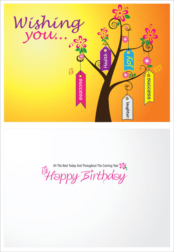 Festival Greeting Cards vector background 01