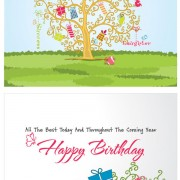 Link toFestival greeting cards vector background 02