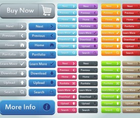 Button Collection (buy ,Download ,Upload ,Search Button ….)