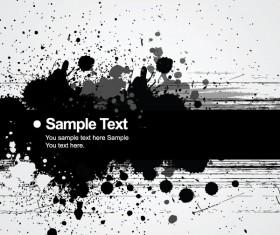 Ink jet Effect vector background 01