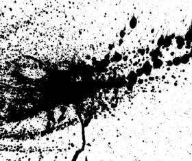 Ink jet Effect vector background 02