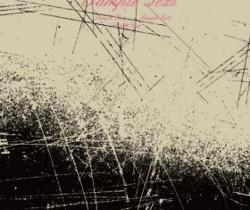 Ink jet Effect vector background 04